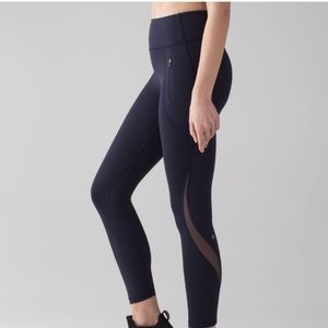 Lululemon Invigorate 7/8 Tight Midnight Blue 4